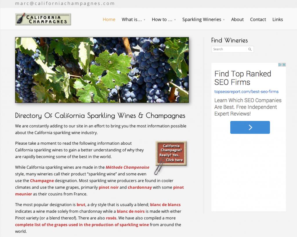 California Champagnes